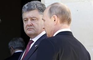 порошенко, путин, взаимоотношения
