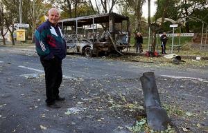 Донецк, Киевский район, ато, попадание