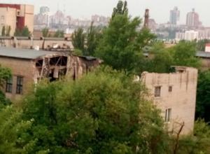 днр, донецк, взрыв, фото, университет торговли, терроризм, обрушение, донбасс, новости украины