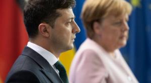 Украина, политика, зеленский, переговоры, донбасс, меркель, саммит