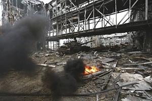 аэропорт Донецка, киборги, армия Украины, ВСУ, восток Украины, война в Донбассе, ДНР