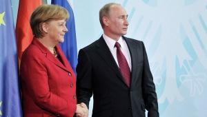 ангела меркель, владимир путин, новости россии, новости германии, политика, юго-восток украины, переговоры в минске 2014, ато
