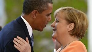 обама, меркель, политика, украина, донбасс, германия, сша