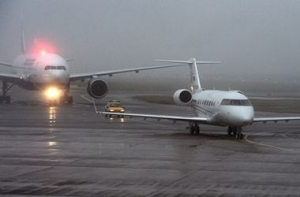 Канада, Галифакс, авиалайнер, посадка, выкатился за пределы полосы