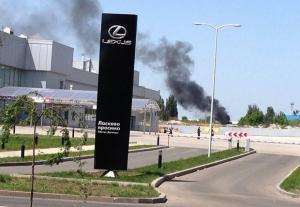 аэропорт донецк, взрыв, база, на воздух