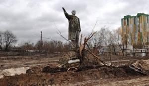 украина, киев, ленин, памятник, декоммунизация, коммунизм