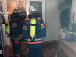 кинотеатр кинопанорама, пожар ,происшествие, общество, киев, новости украины