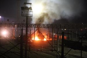 взрыв на железнодорожной подстанции, харьков ,криминал ,происшествие, общество ,прокуратура харьковской области ,мвд украины