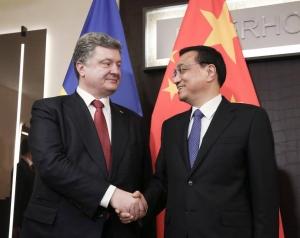порошенко, китай, украина, политика