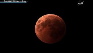 смотреть кадры, украина, кровавая луна, затмение, кадры, общество, космос, марс