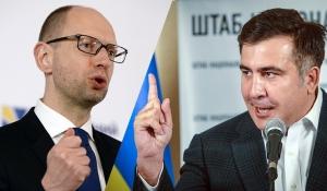 саакашвили, украина, политика, яценюк, самопомощь