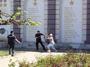 одесса, русский мир, сепаратизм, избиение, полиция, фото, видео, происшествия, 1 мая