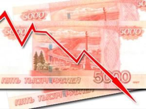 рубль, падение, курс, евро