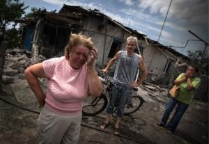 Луганск, АТО, ситуация в городе