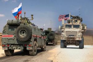 война в сирии, армия россии, армия сша, военные, конвой, алеппо, камышли