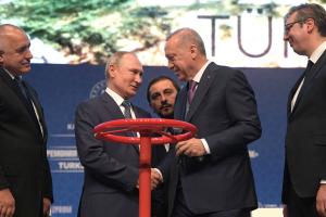путин, эрдоган, россия, турция, газпром, газ, европа