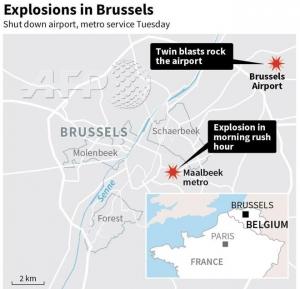 брюссель, теракт, взрыв, метро, аэропорт, происшествия, терроризм, общество, бельгия, новости