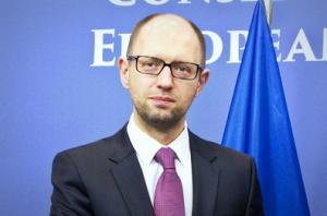 яценюк, евросоюз, украина, новогоднее обращениее