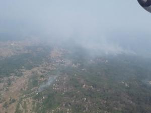 лесные пожары, горят леса в Черногории, МЧС Украины помогает Черногории