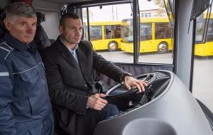 Украина, Киев, Виталий Кличко, Автобусы, Видео