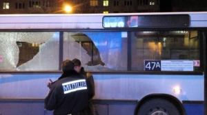 Милиция, Львов, обстрел, маршрутка, пассажиры, хулигантво