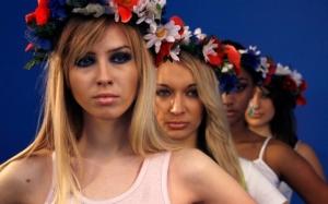 Femen, Германия, Кельн, Феменистки