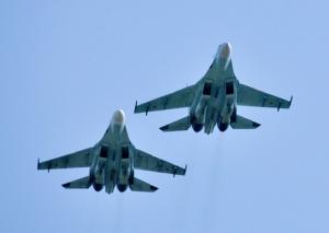 Литва, Армия РФ, Истребитель Су-27, Воздушное пространство, Балтийское море, НАТО