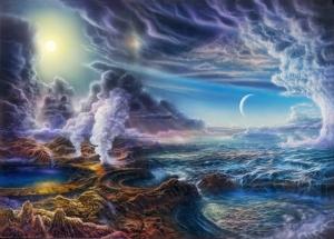 Появление жизни, планета Земля, ученые, теории, большой взрыв, зарождение жизни, космос, прошлое