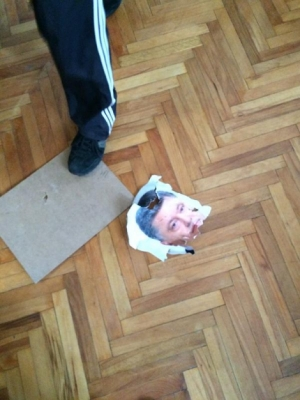 Винница, задержаный, арест, Порошенко, протесты, Украины, государственная символика