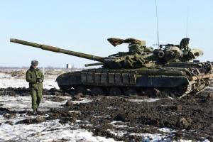Донецк, Макеевка, танки, передвижение