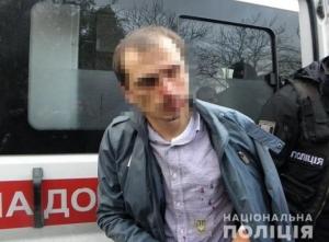 киев, полиция, ограбление, деньги, авто, происшествия, криминал