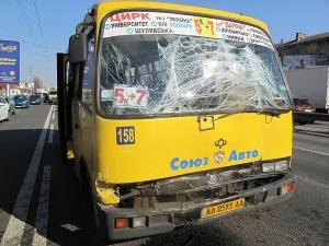 Киева, ДТП, маршрутные такси, пострадавшие