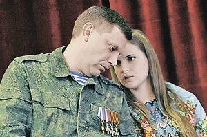 захарченко, донецк, донбасс, днр, жена, скандал