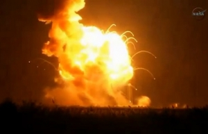 космос, корабль, космодром, происшествие, взрыв, NASA
