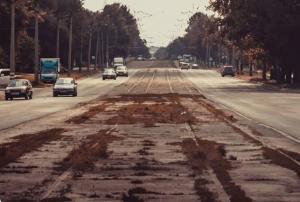 соцсети, фото, луганск, улица оборонная, донбасс, оккупация, россия, русский мир, война на донбассе, трамваи