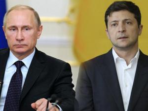 владимир зеленский, президент украины, владимир путин, нормандская четверка, фото, комната, донбасс, переговоры