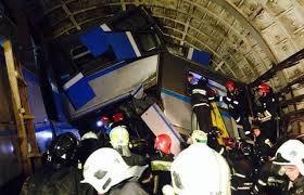 Москва, Россия, происшествия, авария в метро