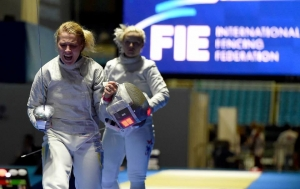 спорт, фехтование, сборная Украины по фехтованию, победа, Кубок Акрополь, видео