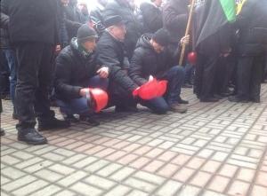 митинг шахтеров, минэнерго украины, киев, новости украины, общество