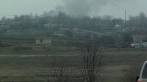 полк азов, широкино, донбасс, восток украины, танк