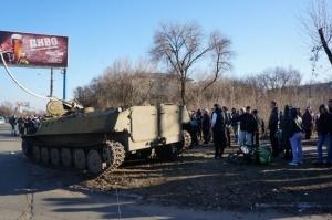 Аброськин, Константиновка, ДТП, виновники аварии задержаны и доставлены в прокуратру