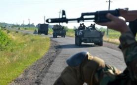 Донбасс, АТО, обстрел, позиции, ополченцы, силовики