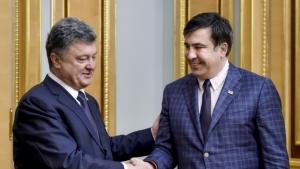 саакашвили, украина, грузия, политика, порошенко