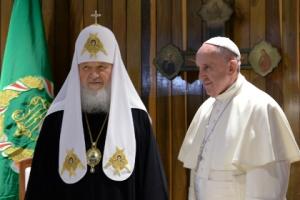 папа римский, патриарх кирилл, куба, россия, италия, происшествия, культура, церковь