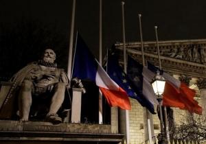 франция, расстрел редакции издания Charlie Hebdo, криминал, происшествие, день траура во франции