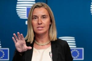 Могерини, ЕС, Путин, санкции, экономика, ООН, Украина, политика, общество
