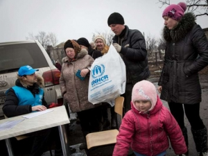 Гуманитарка, гуманитарная ситуация, ООН, восток Украины, Донецк, Луганск