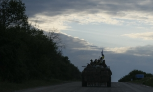 Счастье, Луганская область, освобождение города, батальон Айдар, оккупанты, ИЛ-76