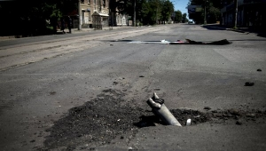 авдеевка, град, обстрел, новости украины, происшествия, донбасс, авдеевский коксохим