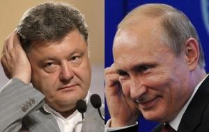 россия, украина, владимир путин, петр порошенко
